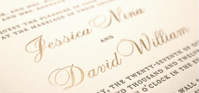 Wedding Invitation Paper Types: Different Printing Techniques