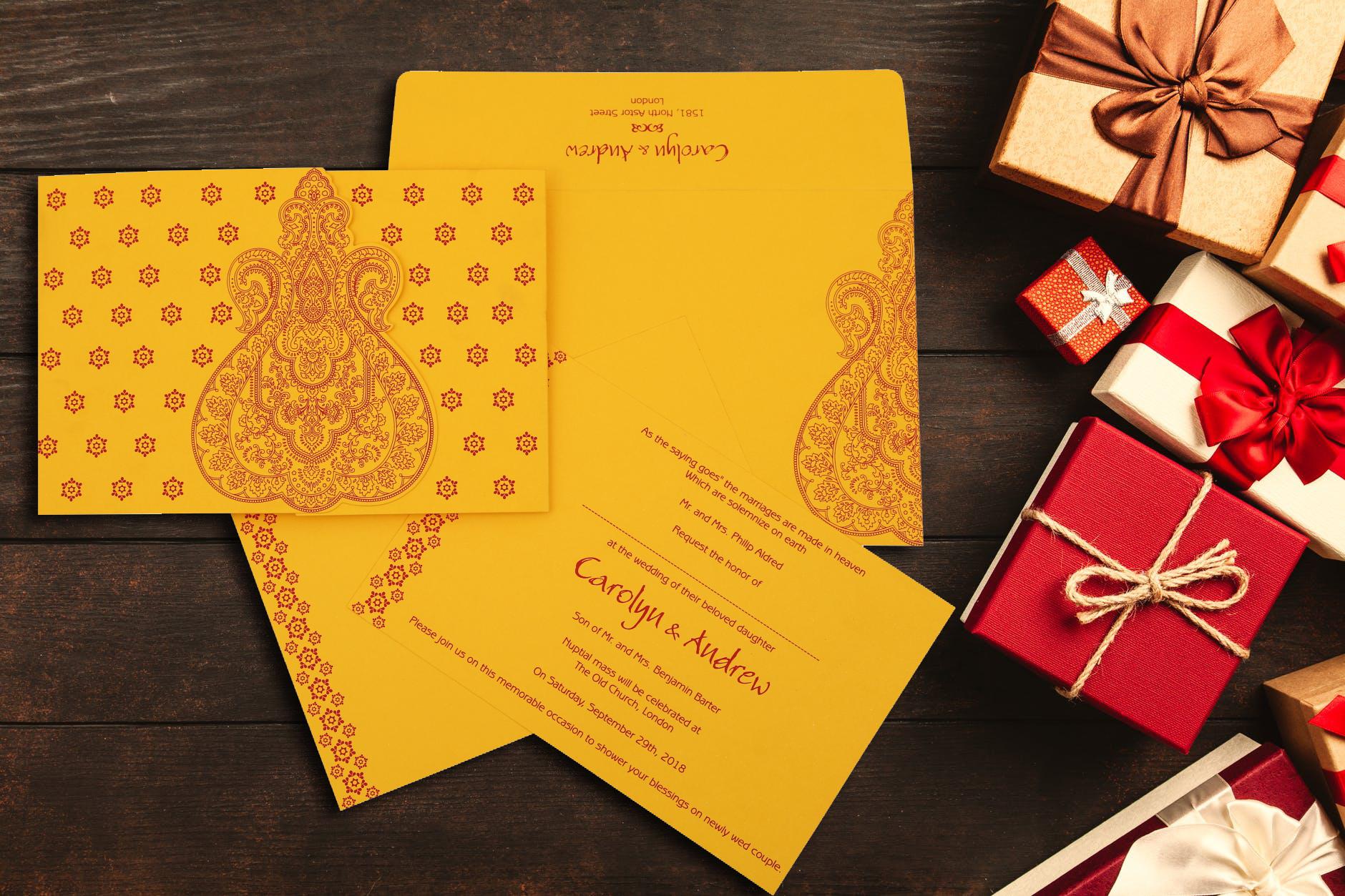 hindu wedding cards  hindu wedding invitations  marriage
