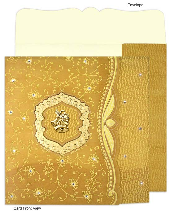 Going The Exquisitely Traditional Way Gujarati Wedding Invitations
