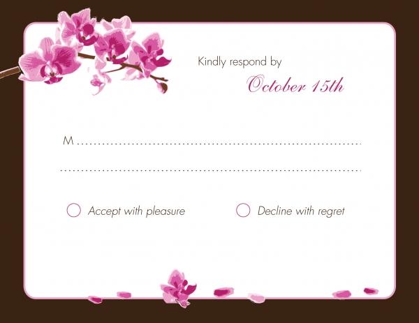 RSVP Cards | RSVP Invitations | Indian Wedding Cards