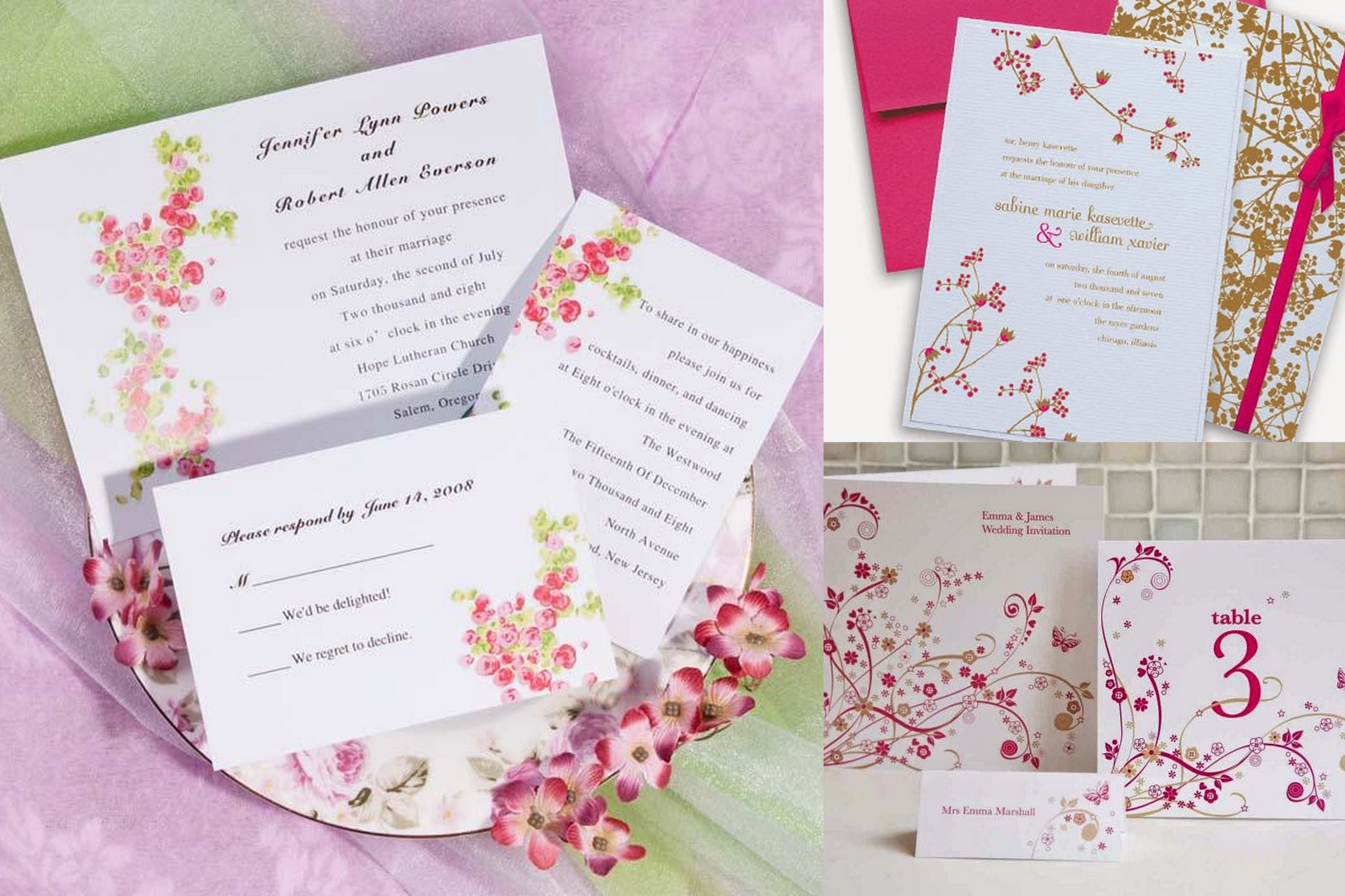 Famous Styles Of Wedding Invitation Cards All Around The Globe