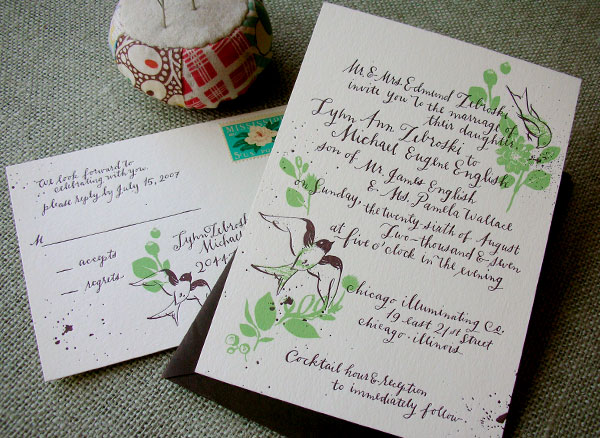 Famous styles of wedding invitation cards all around the globe for Wedding invitation making course