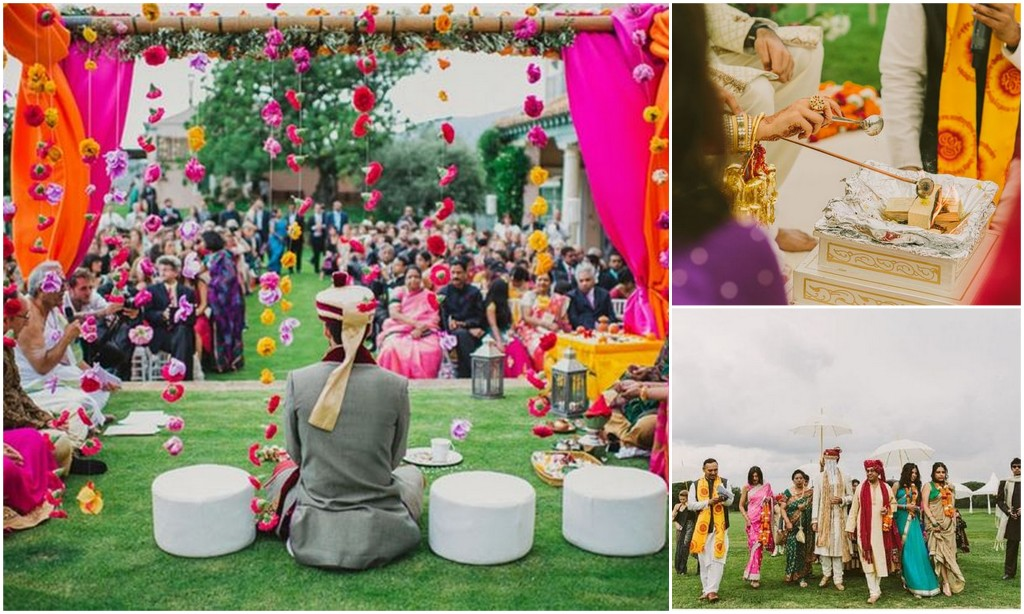 7 most popular themes for hindu weddings for Top ten wedding themes