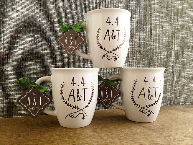 Wedding Gift Mugs Suggestions : Coolest DIY Wedding Gift Ideas For The Recently Wedded Couples