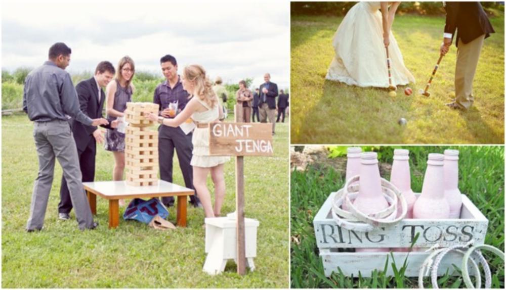 Ways to make your wedding reception more fun for Fun things for wedding receptions