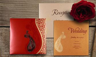 Modern Indian Wedding Invitations