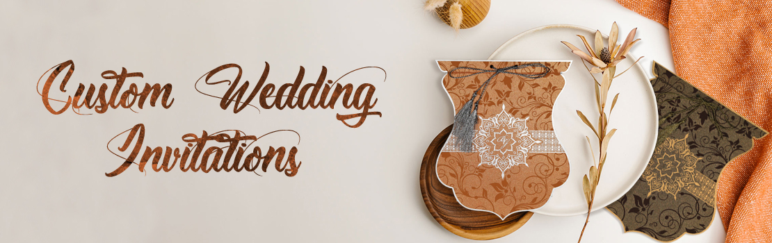 Custom Made Wedding Invitations-IndianWeddingCards