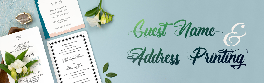 Guest name and addressing-IndianWeddingCards