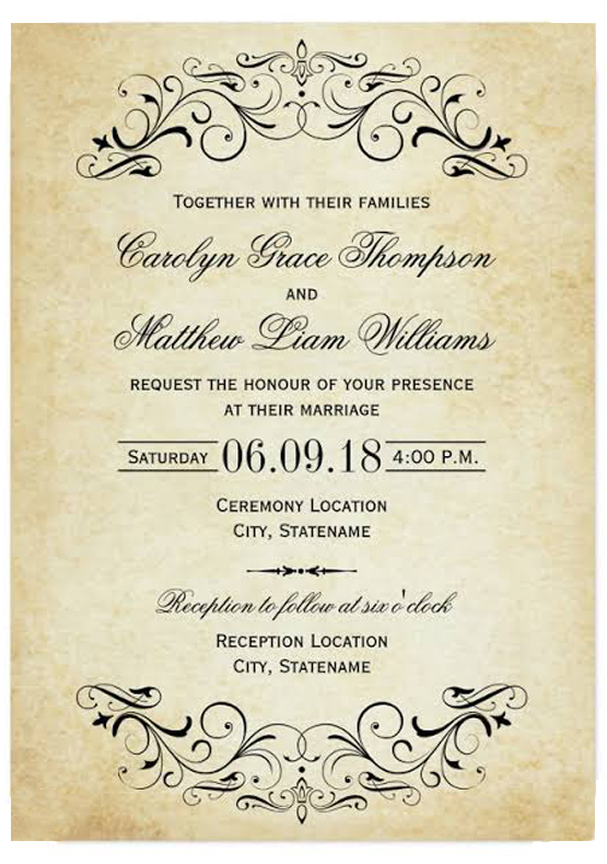 Invitation Wordings-IndianWeddinCards