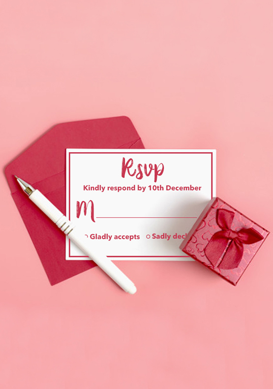 RSVP Cards-IndianWeddingCards