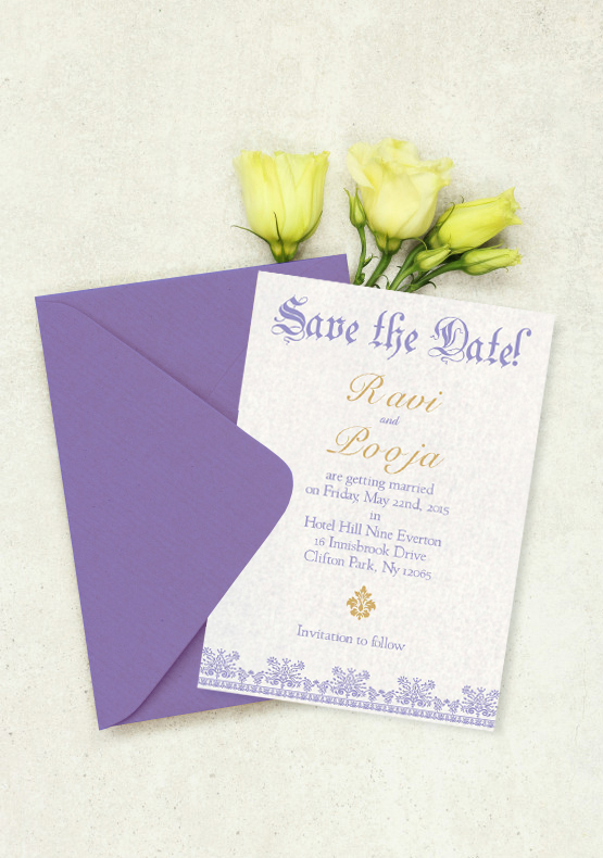 Save The Date-IndianWeddingCards