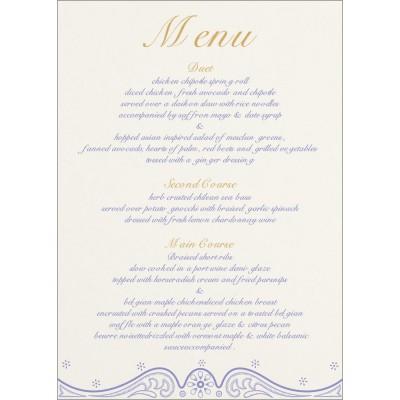 Menu Cards - MENU-8221E