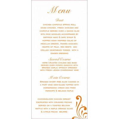 Menu Cards - MENU-8223K
