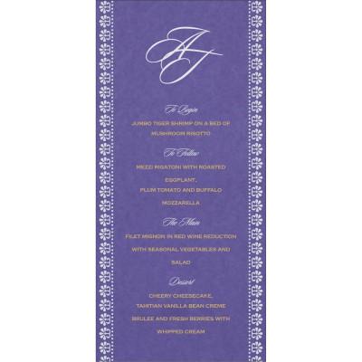 Menu Cards - MENU-8231K