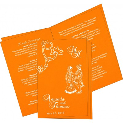 Program Booklet 6725 - IndianWeddingCards