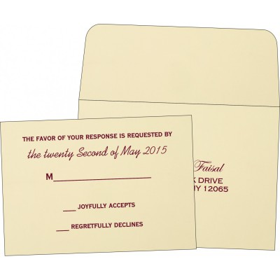 RSVP Cards - RSVP-1203
