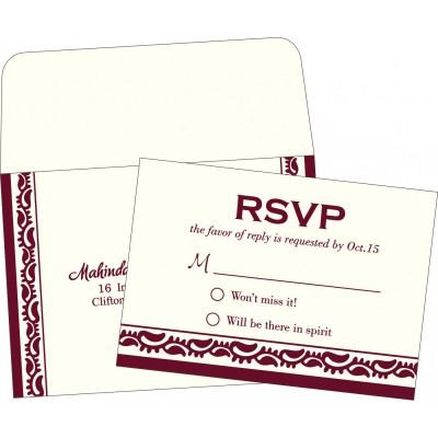 RSVP Cards - RSVP-2163