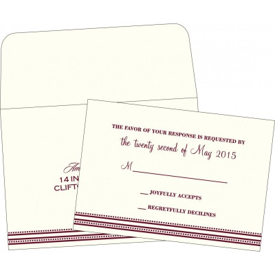 RSVP Cards - RSVP-2226