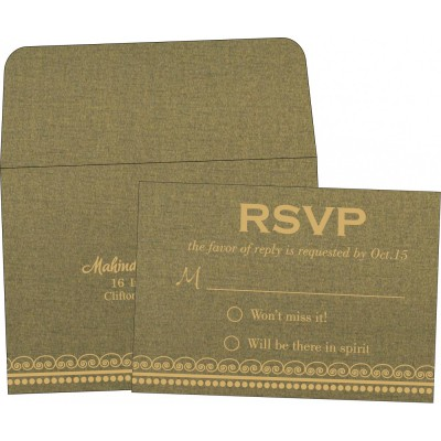 RSVP Cards - RSVP-5009E