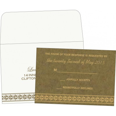 RSVP Cards - RSVP-5010F