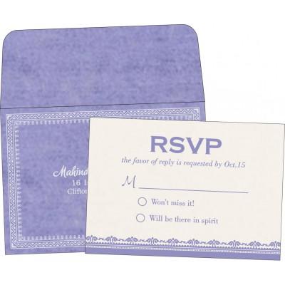 RSVP Cards - RSVP-8205F