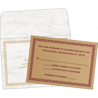 RSVP Cards - RSVP-8211A