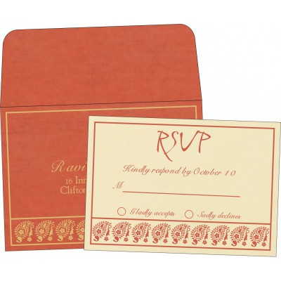 RSVP Cards - RSVP-8218E