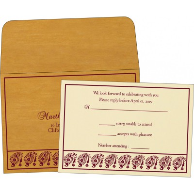 RSVP Cards - RSVP-8218N