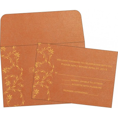 RSVP Cards 2233 - IndianWeddingCards