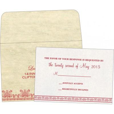 RSVP Cards - RSVP-8241F