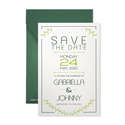 Save The Date 7216 - IndianWeddingCards