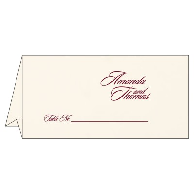 Table Cards - TC-1391