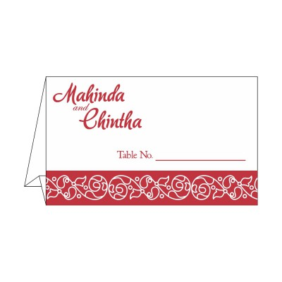 Table Cards - TC-1396