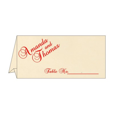 Table Cards - TC-1412