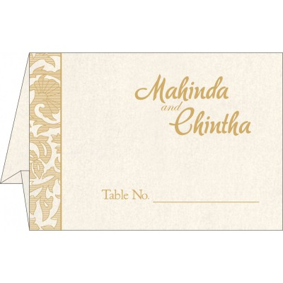 Table Cards - TC-1434