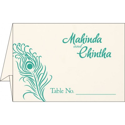 Table Cards 7155 - IndianWeddingCards