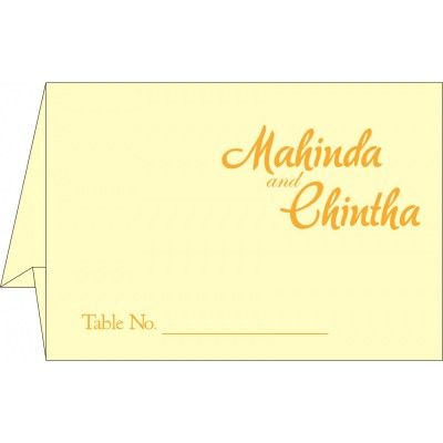 Table Cards - TC-2111
