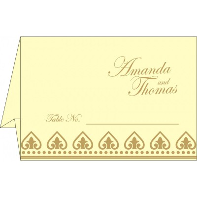Table Cards - TC-2220