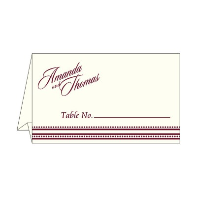 Table Cards - TC-2226