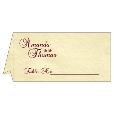 Table Cards - TC-2235