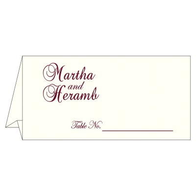 Table Cards - TC-5008C