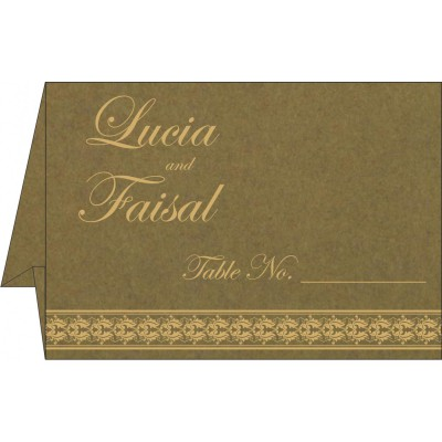 Table Cards - TC-5010F
