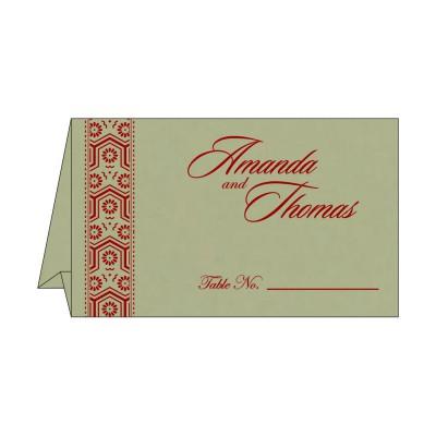 Table Cards - TC-5014B