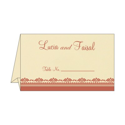 Table Cards - TC-8205M
