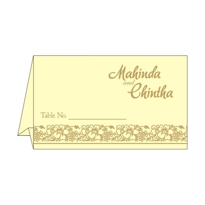 Table Cards - TC-8207N