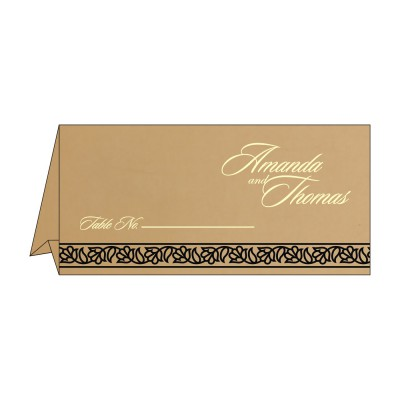 Table Cards - TC-8211N