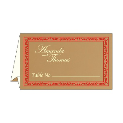 Table Cards - TC-8214G
