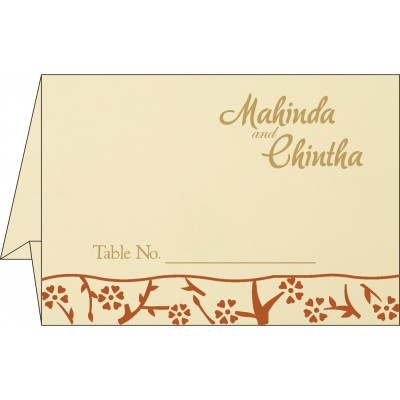 Table Cards - TC-8216E