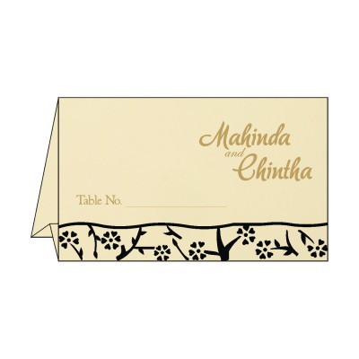 Table Cards - TC-8216K