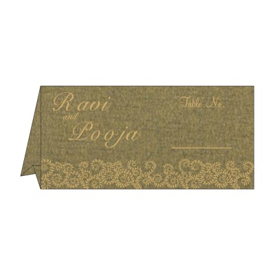 Table Cards - TC-8217H